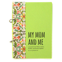 Journal for Moms and Daughters, Mums and Daughters - My Mom and Me in summer green