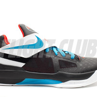 "n7 nike zoom kd 4 ""n7"" - black/dk trqs-chllng rd-wht - Nike Basketball - Nike 