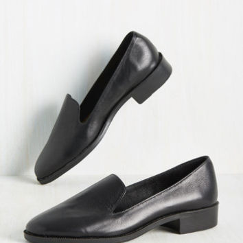 Campus Crawler Leather Loafer | Mod Retro Vintage Flats | ModCloth.com