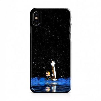 Calvin And Hobbes 1 iPhone X Case