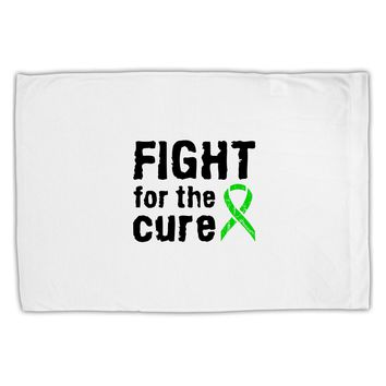 Fight for the Cure - Lime Green Ribbon Lyme Disease Standard Size Polyester Pillow Case