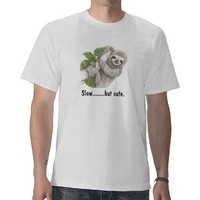 Sloth T Shirt from Zazzle.com