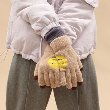 Tyakasha Park Smiley Face Gloves