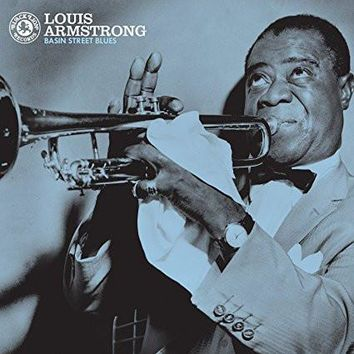 Louis Armstrong : Basin Street Blues LP
