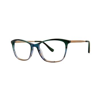 Kensie - Enjoy 52mm Green Eyeglasses / Demo Lenses