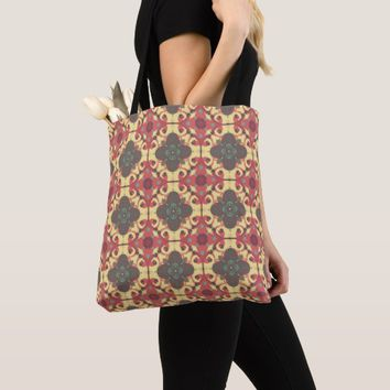 Moroccan All-Over-Print Tote Bag