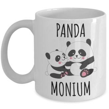 Panda Mug Panda Gift Panda Bear Coffee Cup I Love Pandas Panda Lover Mug Cute Panda Decor for Panda Collector