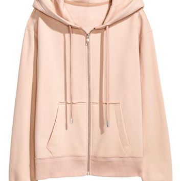 Hooded jacket - Powder - Ladies | H&M GB