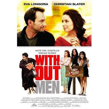 Without Men Movie poster Metal Sign Wall Art 8in x 12in