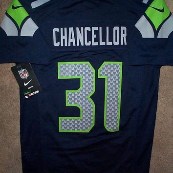 NIKE Seattle Seahawks CAM CHANCELLOR nfl Jersey YOUTH KIDS BOYS (m-medium)