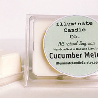 Cucumber Melon wax melt|Wax Tarts| Handmade| Soy Wax| Gifts for her| scented