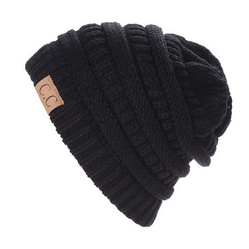 New Brand CC Bonnet Beanies Knitted Winter Caps Skullies Winter Hats For men women  Outdoor Ski Sports Beanie Gorras
