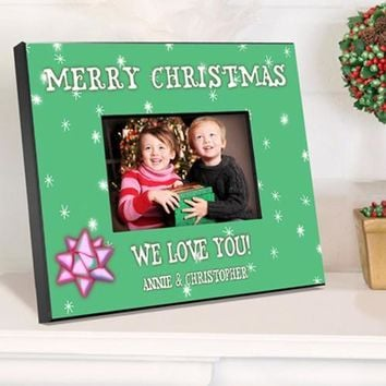 Holiday Frame - Green