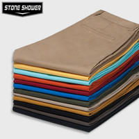 Great Quality Chinos Casual Cotton Slim Straight Cheap Mens Pants Chino Pants Chinos Men Trousers