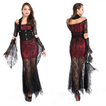 Cosplay Halloween Spider Prom Dress [9211524868]