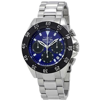 Invicta Speedway Chronograph Blue Dial Mens Watch 22393