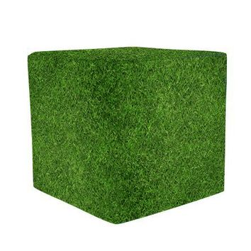 Grass Wooden Cube Cover Photography Prop - CUBE14