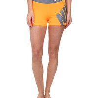 "Nike Pro 3"" Logo Short Volt/Hot Pink - Zappos.com Free Shipping BOTH Ways"