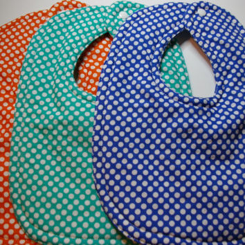 Baby bib set polkadot bibs new baby gifts infant feeding bib bright baby bibs boutique baby cotton bib toddler bib baby girl baby boy unisex