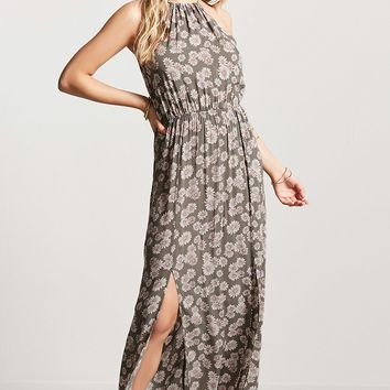 Floral M-Slit Maxi Dress - Women - Dresses - 2000219320 - Forever 21 Canada English