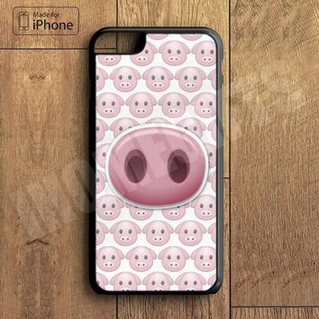 Funny Pig Emoji Phone Case For iPhone 6 Plus For iPhone 6 For iPhone 5/5S For iPhone 4/4S For iPhone 5C3 iPhone X 8 8 Plus