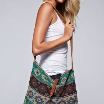 Ghana by Love Stitch Crossbody Bag