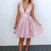Cheers To The Bride Dress: Baby Pink