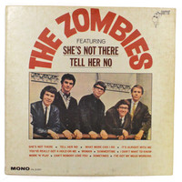 Vintage 60s The Zombies Self-Titled Debut Mono Album Record Vinyl LP