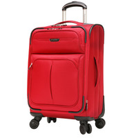 """Ricardo of Beverly Hills 20"""" Red Lightweight Softside Carry-On"""