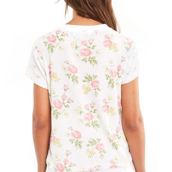 Patchwork Floral No9 Tee - Wildfox