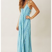 Blu Moon Pharoah Maxi Dress
