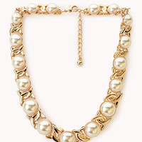 Luxe Faux Pearl Necklace