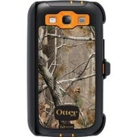 OtterBox Defender Series Case for Samsung Galaxy S III - Retail Packaging - Realtree Camo - AP Blaze