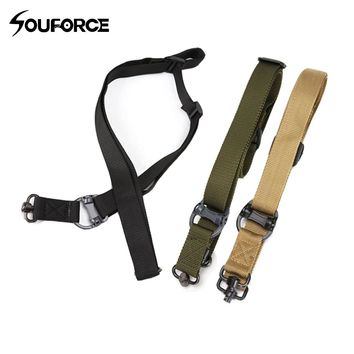 3 Color Tactical Gun Belt Gun Rope 1000D Nylon 3 Color Multi-function Two-point Task Rope Gun Accessories for Hunting