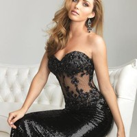Night Moves 6611 at Prom Dress Shop
