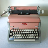Vintage Royal Model FP Typewriter