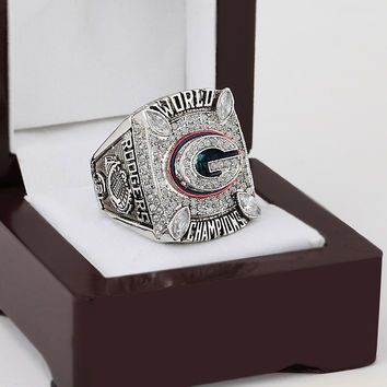 Green Bay Packers Super Bowl Football Championship Replica Ring 2010