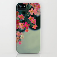 Flowers In Your Hair iPhone Case by Galaxy Eyes | Society6