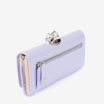 Patent crystal frame matinee - Light Purple | Wallets | Ted Baker