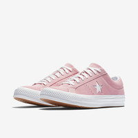 The Converse One Star Classic Suede Low Top Unisex Shoe.