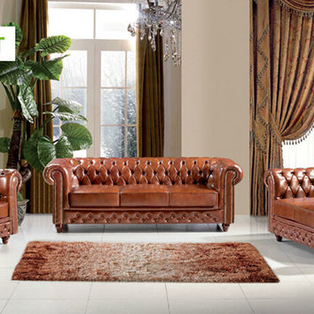 U-BEST Leather chesterfield sofas, Distinctive Chesterfields available as 3 seater 2 seater or single seater designer sofa