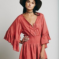 Free People Womens Far From Heaven Romper