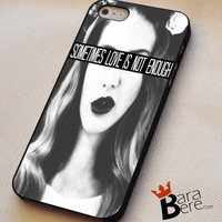 Lana Del Rey quotes iPhone 4s iphone 5 iphone 5s iphone 6 case, Samsung s3 samsung s4 samsung s5 note 3 note 4 case, iPod 4 5 Case