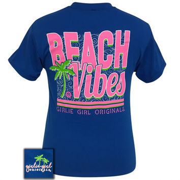 Girlie Girl Preppy Beach Vibes T-Shirt