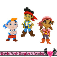 DISNEY Jake and the Neverland Pirates Dress It Up Jesse James Buttons