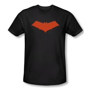 Batman Dark Knight gift Christmas Red Hood Symbol Batman DC Comics Men  Adult Slim Fit T Shirt Man Short Sleeve T-shirt Cool Tops Tees AT_71_6
