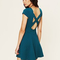 Free People Show Me Your Back Fit and Flare Dress