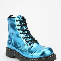 T.U.K. Metallic Combat Boot
