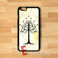 White tree of Gondor and middle earth map -stle for iPhone 4/4S/5/5S/5C/6/ 6+,samsung S3/S4/S5/S6 Regular,samsung note 3/4