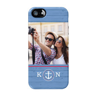 Blue Nautical iPhone 5/5s ColorStrong Cush-Pro Case - Cherishables